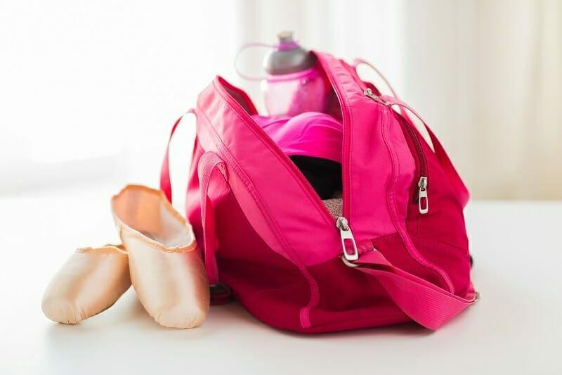 Dance Bag For Training And Competitions